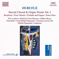 Produktbilde for Duruflé: Sacred Choral and Organ Works, Volume 1 (CD)