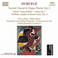 Produktbilde for Duruflé: Sacred Choral and Organ Works, Volume 2 (CD)