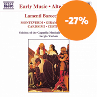 Produktbilde for Lamenti Barocchi, Volume 3 (CD)