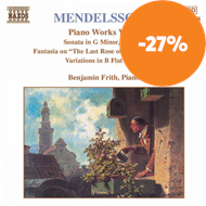 Produktbilde for Mendelssohn: Piano Works, Vol. 4 (CD)