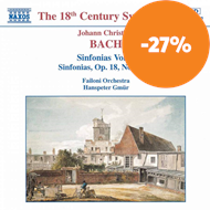 Produktbilde for J.C. Bach: Sinfonias (CD)