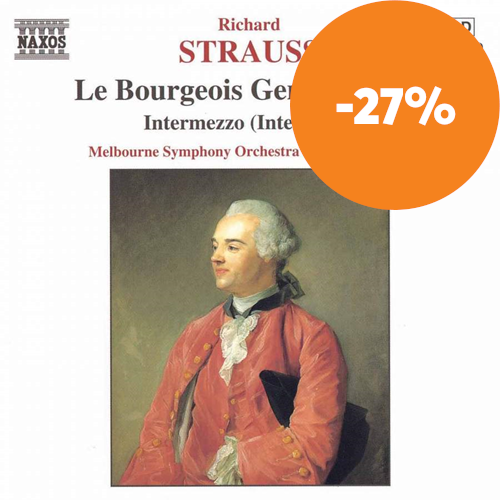 R Strauss: Le Bourgeois Gentilhomme; Intermezzo - Interludes (CD)