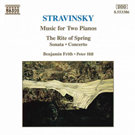 Produktbilde for Stravinsky: Works for Two Pianos (CD)