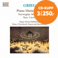 Produktbilde for Grieg: Piano Works, Vol. 5 (CD)