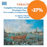 Produktbilde for Veracini: Overtures Nos 1,2,3,4 and 6 (CD)