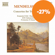 Produktbilde for Mendelssohn: Concertos for Two Pianos (CD)