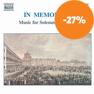 Produktbilde for In Memoriam - Music for Solemn Occasions (CD)