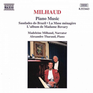 Produktbilde for Milhaud: Piano Music (CD)