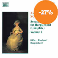 Produktbilde for Soler: Harpsichord Sonatas, Vol. 2 (CD)