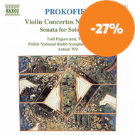 Produktbilde for Prokofiev: Violin Concertos Nos 1 and 2;Sonata for solo Violin (CD)