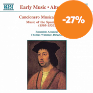 Produktbilde for Cancionero Musical de Palacio-Music of the Spanish Court (CD)