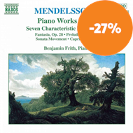 Produktbilde for Mendelssohn: Piano Works, Vol 5 (CD)