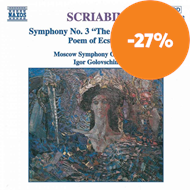 Produktbilde for Scriabin: Symphony No 3;Poem of Ecstasy (CD)