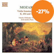 Produktbilde for Mozart: Violin Sonatas, Vol 4 (CD)