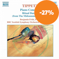 Produktbilde for Tippett: Orchestral Works (CD)