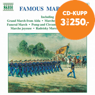 Produktbilde for Famous Marches (CD)