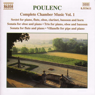 Produktbilde for Poulenc: Complete Chamber Music, Vol 1 (CD)