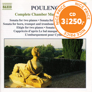 Produktbilde for Poulenc: Complete Chamber Music Vol 3 (CD)