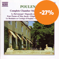 Produktbilde for Poulenc: Complete Chamber Music, Volume 4 (CD)