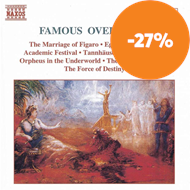 Produktbilde for Famous Overtures (CD)