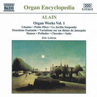 Produktbilde for J.Alain: Organ Works, Volume 1 (CD)