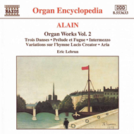 Produktbilde for Alain: Organ Works, Volume 2 (CD)