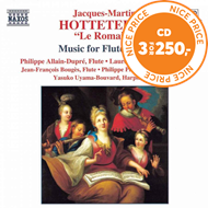 Produktbilde for Hotteterre: Music for Flute, Vol 2 (CD)