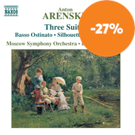 Produktbilde for Arensky: (3) Orchestral Suites (CD)