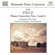 Produktbilde for Field: Piano Concertos Nos 2 & 4 (CD)