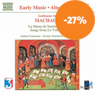 Produktbilde for Machaut: La Messe de Nostre Dame etc (CD)