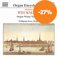 Produktbilde for Weckmann: Organ Works, Vol 1 (CD)