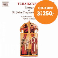 Produktbilde for Tchaikovsky: St John Chrysostom (CD)