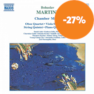 Produktbilde for Martinu: Chamber Works (CD)