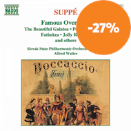 Produktbilde for Suppé: Famous Overtures (CD)