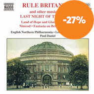 "Produktbilde for Rule Britannia and other music from the ""Last Night of the Proms"" (CD)"