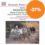 Produktbilde for Moszkowski: Piano Concerto in E; From Foreign Lands (CD)