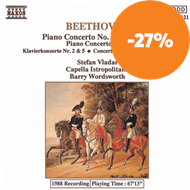 Produktbilde for Beethoven: Piano Concertos 2 and 5 (CD)