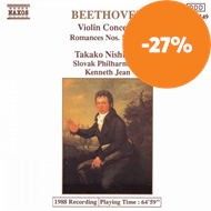 Produktbilde for Beethoven: Works for Violin and Orchestra (CD)