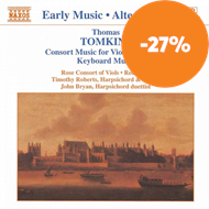 Produktbilde for Tomkins: Consort Music for Viols and Voices; Keyboard Music (CD)