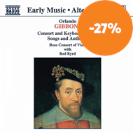 Produktbilde for Gibbons: Consort and Keyboard Music, Songs and Anthems (CD)