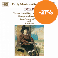 Produktbilde for Byrd: Music for Viols, Voices and Keyboard (CD)