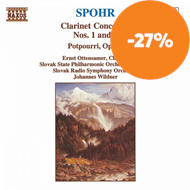 Produktbilde for Spohr: Clarinet Works (CD)