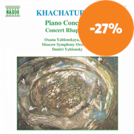 Produktbilde for Khachaturian: Piano Concerto; Concerto-Rhapsody for Piano and Orchestra (CD)