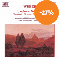 Produktbilde for Weber: Orchestral Works (CD)