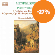 Produktbilde for Mendelssohn: Piano Works, Vol. 1 (CD)