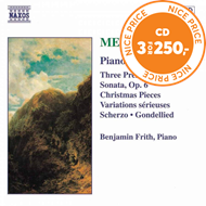 Produktbilde for Mendelssohn: Piano Works, Vol. 2 (CD)