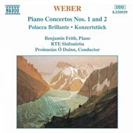 Produktbilde for Weber: Works for Piano and Orchestra (CD)