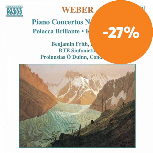 Weber: Works for Piano and Orchestra (CD)