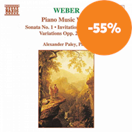 Produktbilde for Weber: Piano Works, Vol. 1 (UK-import) (CD)
