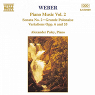 Produktbilde for Weber: Piano Works, Vol. 2 (CD)